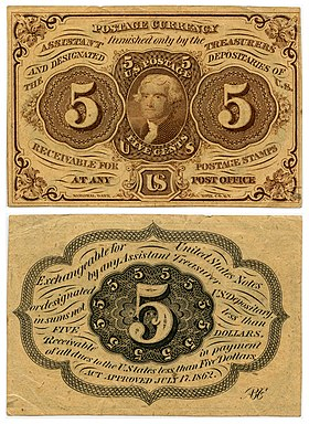 US Postal Currency
