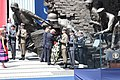 US President Donald Trump in Poland. Monument of the Warsaw Uprising of 1944.jpg