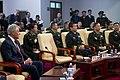 US Secretary of Defense listens to a brief 140409-D-BW835-829.jpg