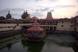 Udupi City in Karnataka, India