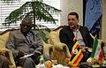 Ugandan Ambassador to Iran Mohammad Ahmad Kissule met mayor of Mashhad Mohammad Pezhman 4.jpg