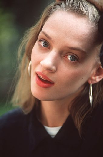 Thurman at the 51st Venice International Film Festival in September 1994 Uma Thurman 01.jpg