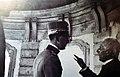 Umberto II e don Arcangelo Rotunno nella certosa 1932.jpg