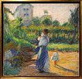 Umberto boccioni, donna in giardino, 1910, 02.JPG