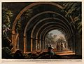 Under the arches of the ancient bath at Cacamo, Turkey. Colo Wellcome V0012301.jpg