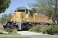 Union Pacific diesel locomotive, Barstow CA.jpg