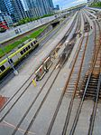 Union Pearson Express, looking west, from Spadina, 2017 05 27 -a (34936938805).jpg