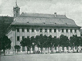 History of Heidelberg University - The Old University from 1735 is today the seat of the Rector and the University Senate