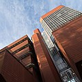University of Leicester Engineering Building - view from below.jpg