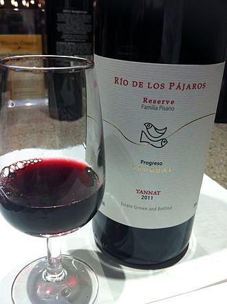 Tannat - A Tannat wine from Uruguay.