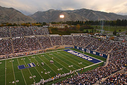 Utah State Univ Stadium Color Corrected