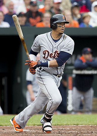 Víctor Martínez (baseball) - Martínez with the Detroit Tigers