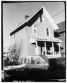 VIEW NORTHEAST, NORTH AND EAST SIDE - 8 Dickinson Street (House), Binghamton, Broome County, NY HABS NY,4-BING,15-2.tif