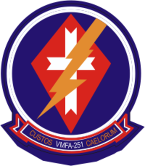 VMFA-251 - VMFA-251 Insignia courtesy of www.military-graphics.com