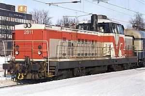Transtech (Finnish company) - VR Class Dr16 locomotives are assembled by Transtech.