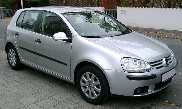 VW Golf V front 20071026