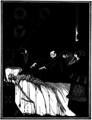 "Illustration for Edgar Allan Poe's ""The F..."