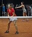 Valeria Solovyeva i Raluca Olaru BNP Paribas Katowice Open 2013 (3).jpg