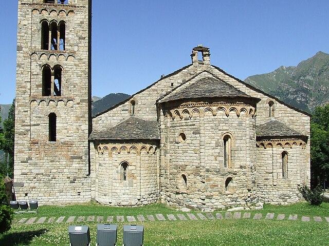 Iglesia romanica boi taull webcam