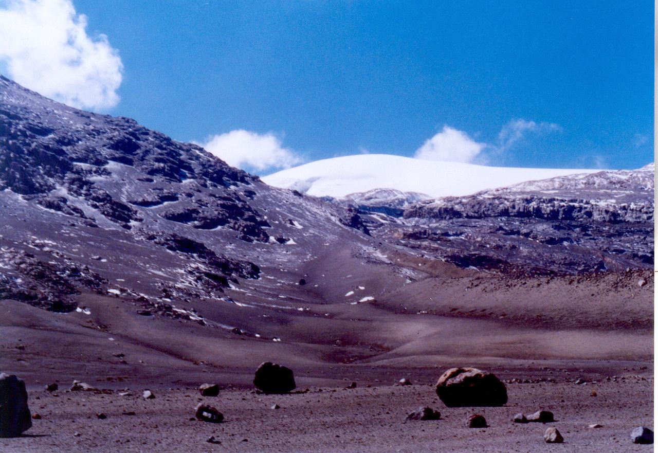 Nevado Del Ruiz Colombia Natural Disasters