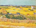 """Van Gogh - Die Ebene """"La Crau"""" bei Arles mit Montmajour im Hintergrund.jpeg"""