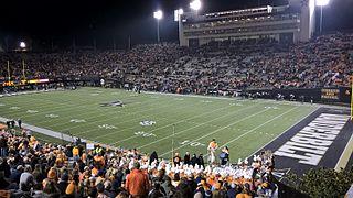 Vanderbilt Stadium Stadium located in Nashville, Tennessee, United States