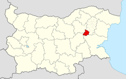 Varbitsa Municipality within Bulgaria and Shumen Province.