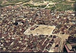Vecchia foto della Piazza della Repubblica vista dall'alto (Alcamo).jpg
