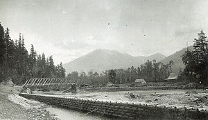 Vedder River - The Vedder River circa 1910