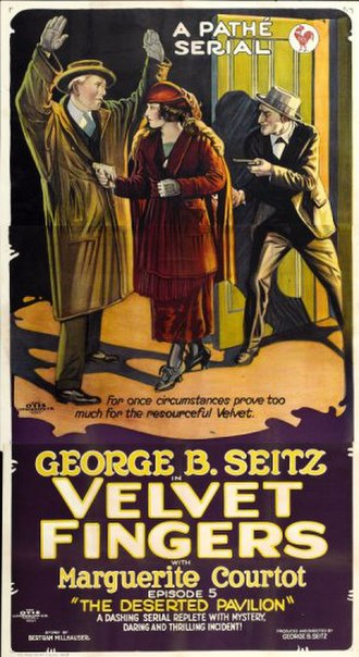 George B. Seitz - Poster for Velvet Fingers (1920)