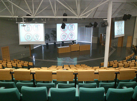 University of Economics, Prague Vencovskeho aula.JPG
