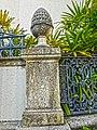 Versace mansion - perimeter wall pine cone.jpg