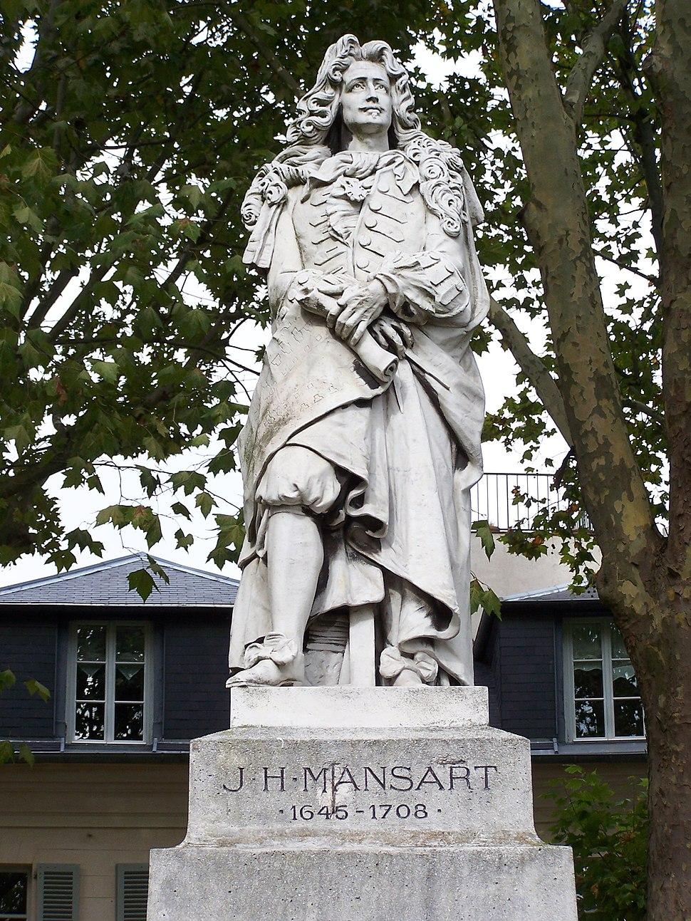 Versailles Statue Mansart