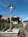 Veselíčko, dřevěný kříž.jpg