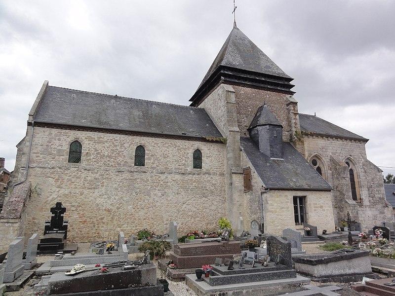 Vesles-et-Caumont (Aisne) église