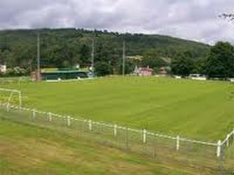 Llanidloes Town F.C. - Victoria Park, the home of Llanidloes Town FC