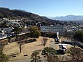 View from site of Kofu Castle (East).JPG
