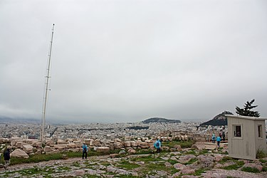 View from the Athens Acropolis 2010.jpg