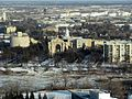 View from the Revolving Restaurant. St. Boniface Cathedral, Winnipeg - panoramio.jpg