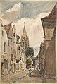 View of Issy (A Street in Issy-les-Moulineaux, Seine) MET DP800799.jpg