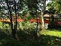 View of Kurehashi Bridge of Usa Shrine near site of Ashihitotsuagari Palace 2.JPG