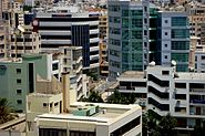 View of Nicosia the capital of Republic of Cyprus