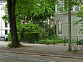 View on a conservatory-building on the corner of the botanical garden Amsterdam; high resolution image by FotoDutch in June 2013.jpg