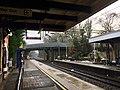 View southbound from platform 1, Poynton railway station.jpg