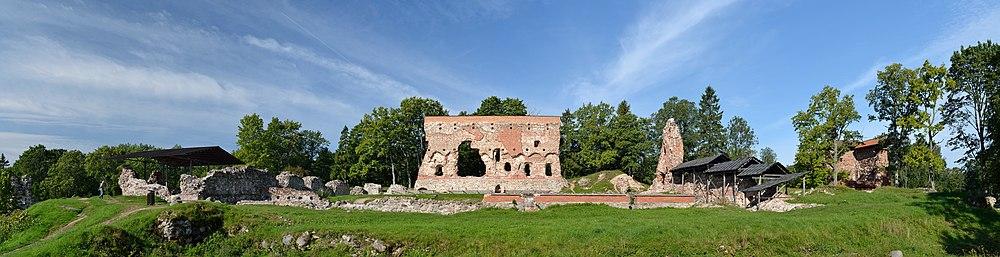Viljandi castle ruins