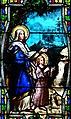 Villeréal - Eglise - Vitrail de la vie de saint François et du saint scapulaire -4.jpg