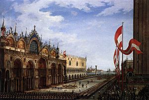 Vincenzo Chilone - The Return of the Horses of Saint Mark (1815)