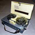 Vintage Ehrcorder Miniature Reel-To-Reel Transistor Tape Recorder, Battery Operated, Made in Japan (10390994373).jpg