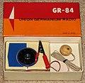 Vintage Union Germanium Radio Model GR-84, NOS, Made in Japan (8287719476).jpg