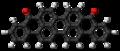 Violanthrone molecule ball.png